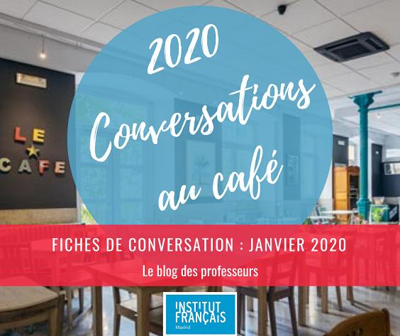 Conversation au café