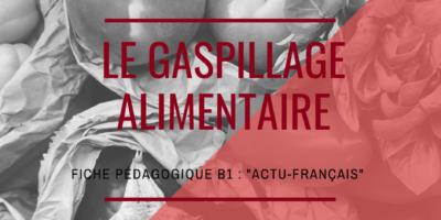 Actu-français : le gaspillage alimentaire